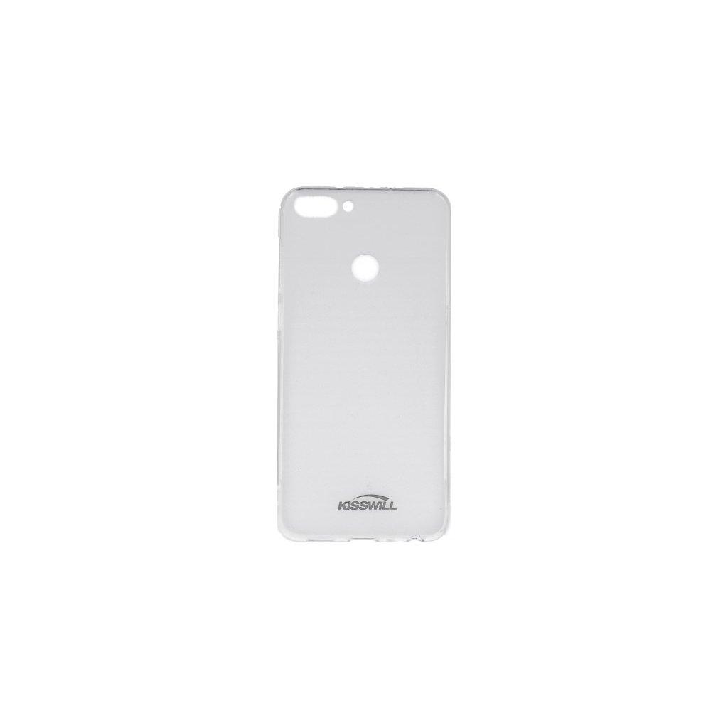 Zadný silikónový kryt Kisswill na Huawei P Smart svetlý