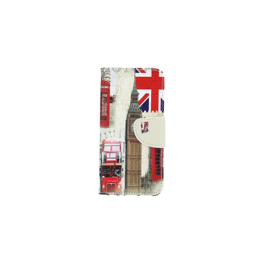 Flipové puzdro na Huawei P Smart Londýn
