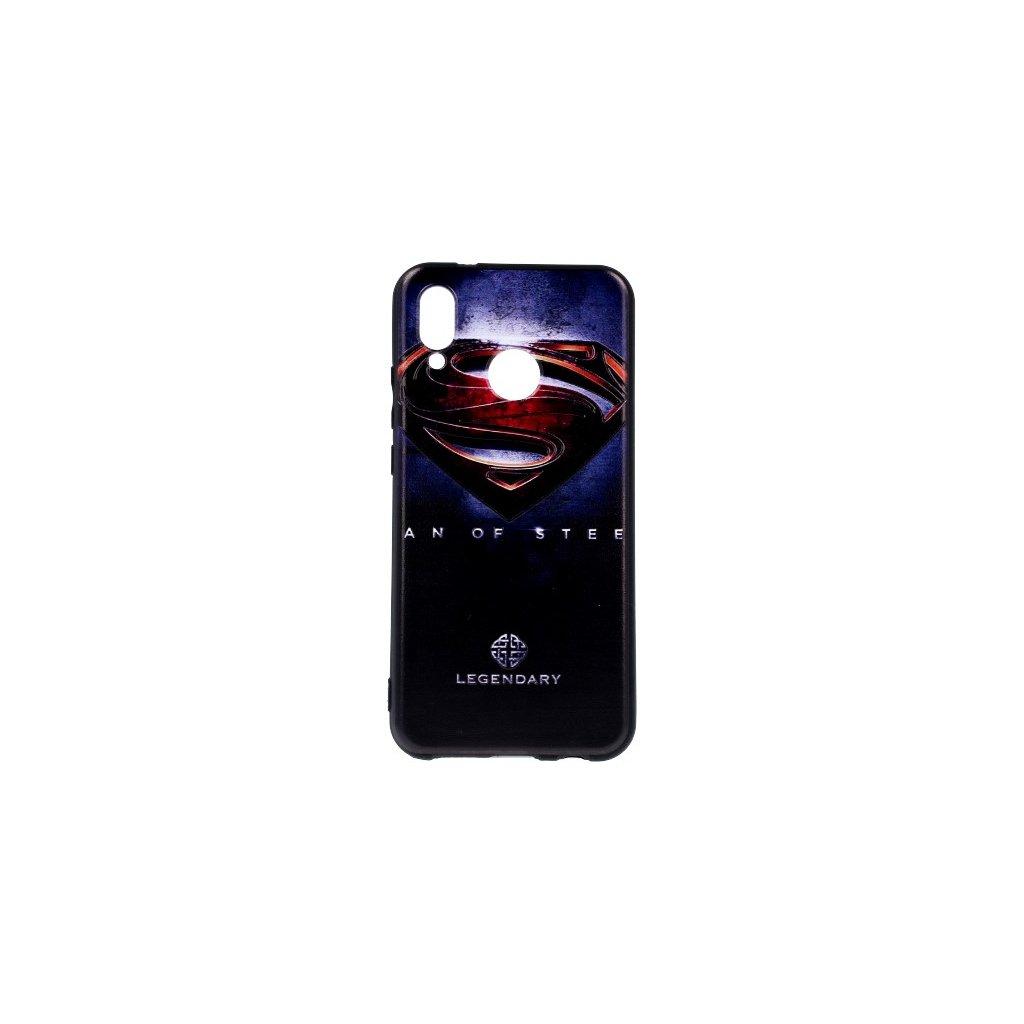 Zadný 3D silikónový kryt na Huawei P20 Lite Superman 2