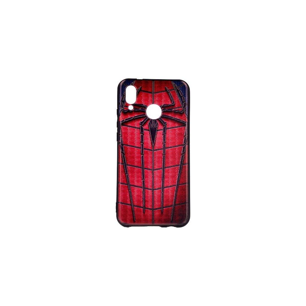 Zadný 3D silikónový kryt na Huawei P20 Lite Spider-Man