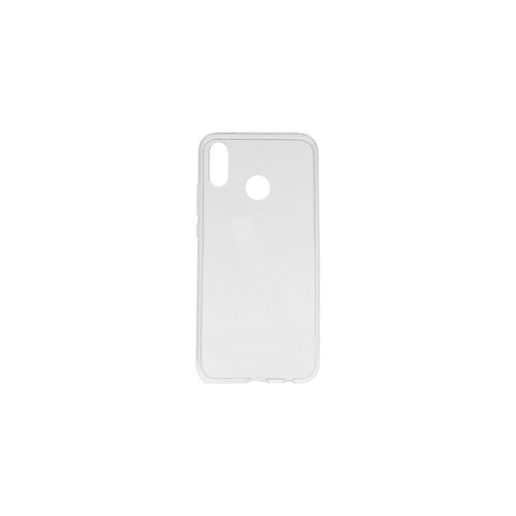 Ultratenký silikónový kryt na Huawei P20 Lite 0,5 mm priehľadný