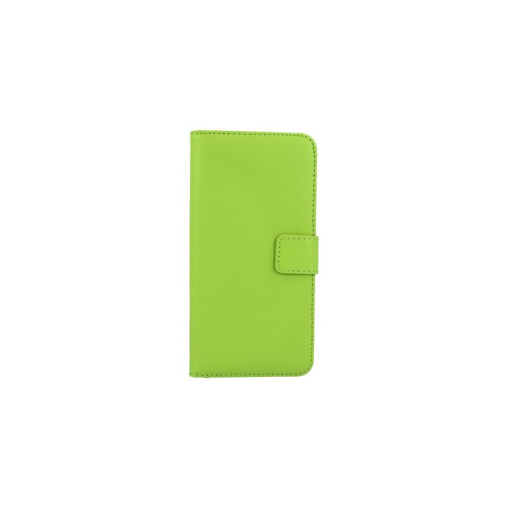 Flipové puzdro na Huawei P20 Lite zelené s prackou 2