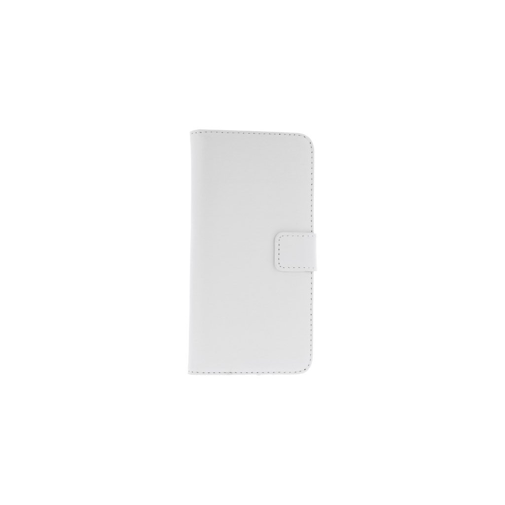 Flipové puzdro na Huawei P20 Lite biele s prackou 2