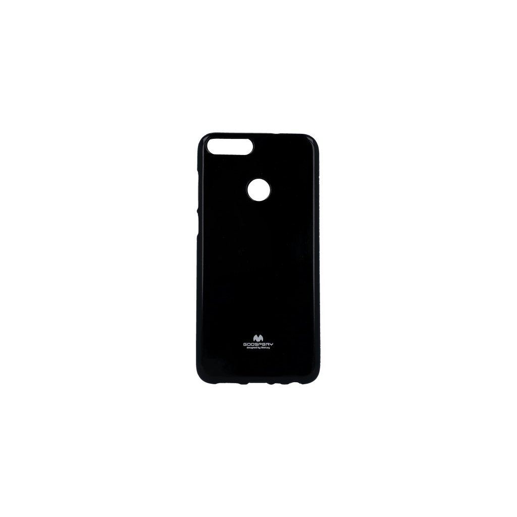 Zadný silikónový kryt Mercury Jelly Case na Huawei P Smart čierny