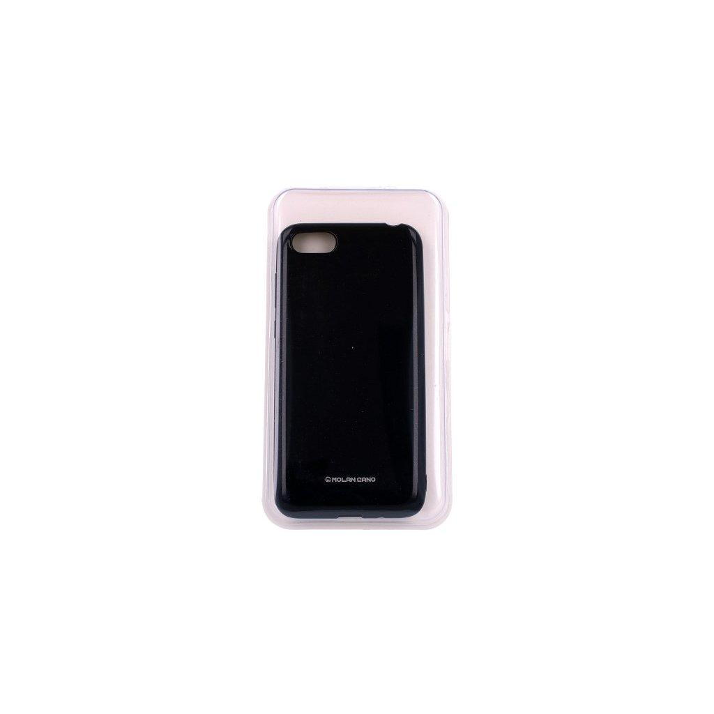 Zadný silikónový kryt Molan Cano Jelly na Huawei Y5 2018 čierny