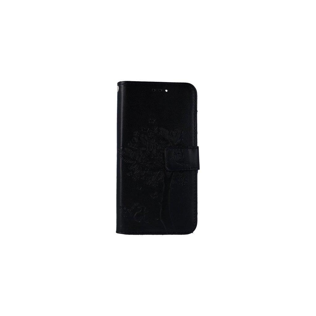 Flipové puzdro na Huawei P Smart Čierny strom