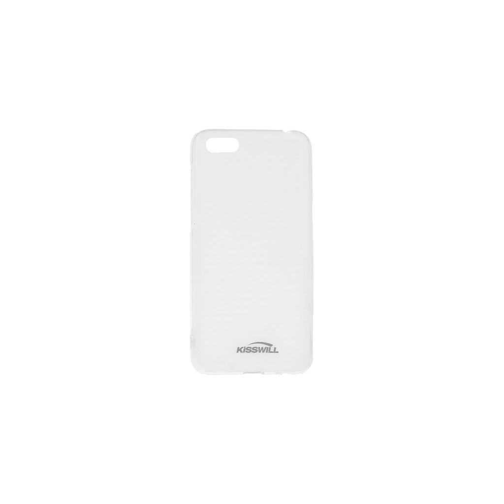 Zadný silikónový kryt Kisswill na Huawei Y5 2018 svetlý