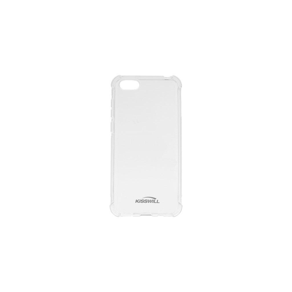 Zadný silikónový kryt Kisswill Shock na Huawei Y5 2018 priehľadný