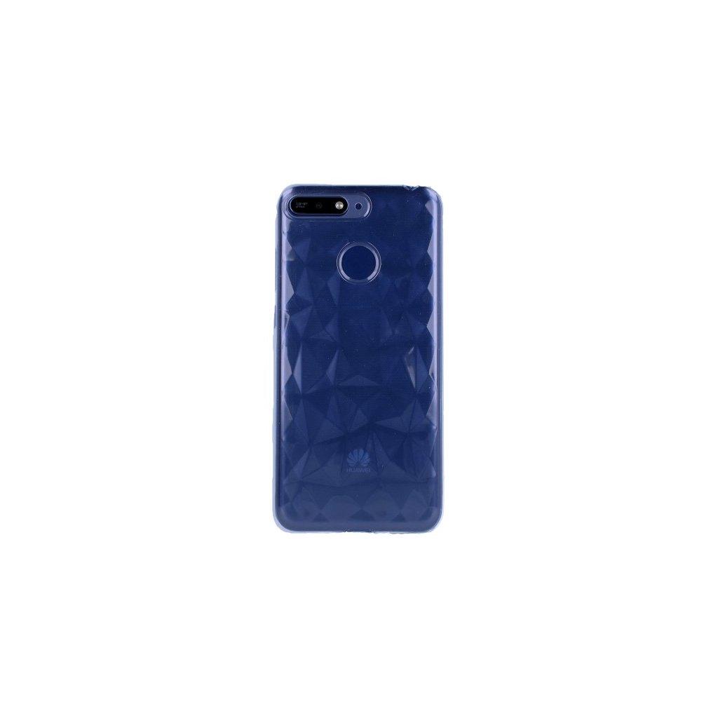 Zadný silikónový kryt Prism Jelly na Huawei Y6 Prime 2018 priehľadný