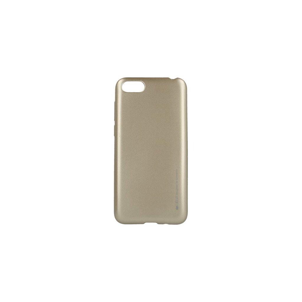 Zadný kryt Mercury iJelly Metal na Huawei Y5 2018 zlatý