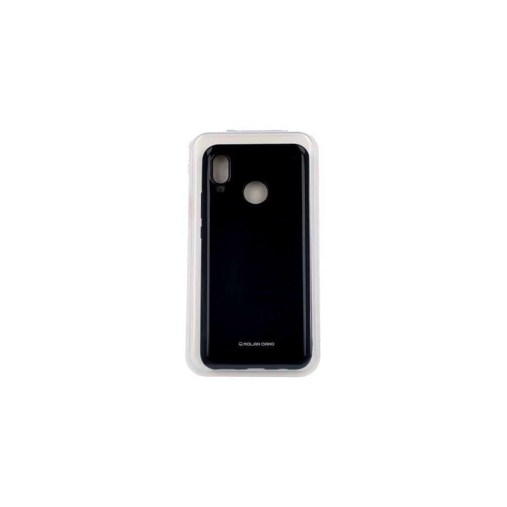 Zadný silikónový kryt Molan Cano Jelly na Huawei Nova 3 čierny