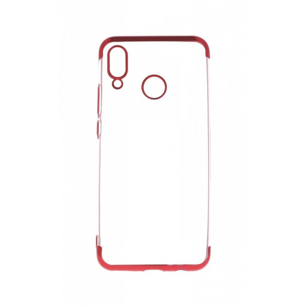 Zadný silikónový kryt na Huawei Nova 3 Frame červený
