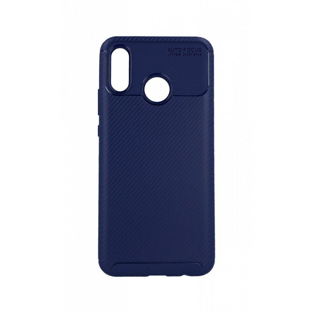 Zadný silikónový kryt Focus na Huawei Nova 3 modrý