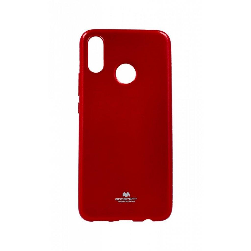 Zadný silikónový kryt Mercury Jelly Case na Huawei Nova 3i červený