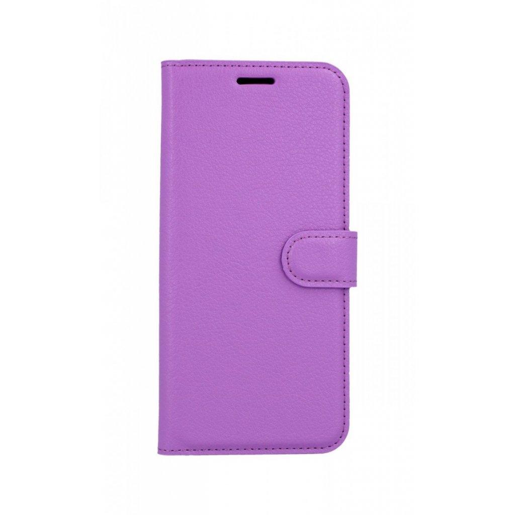 Flipové puzdro na Huawei Nova 3i fialové s prackou
