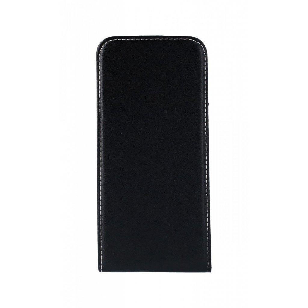 Flipové puzdro Slim Flexi na Huawei Nova 3i čierne