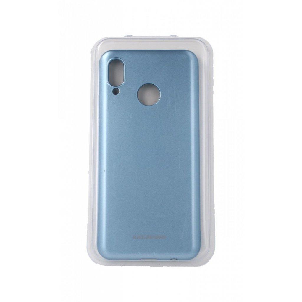 Zadný silikónový kryt Molan Cano Jelly na Huawei Nova 3i modrý