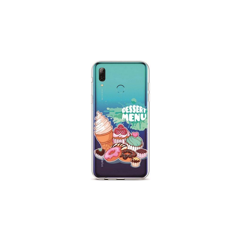 Zadný silikónový kryt na Huawei P Smart 2019 Dessert Menu
