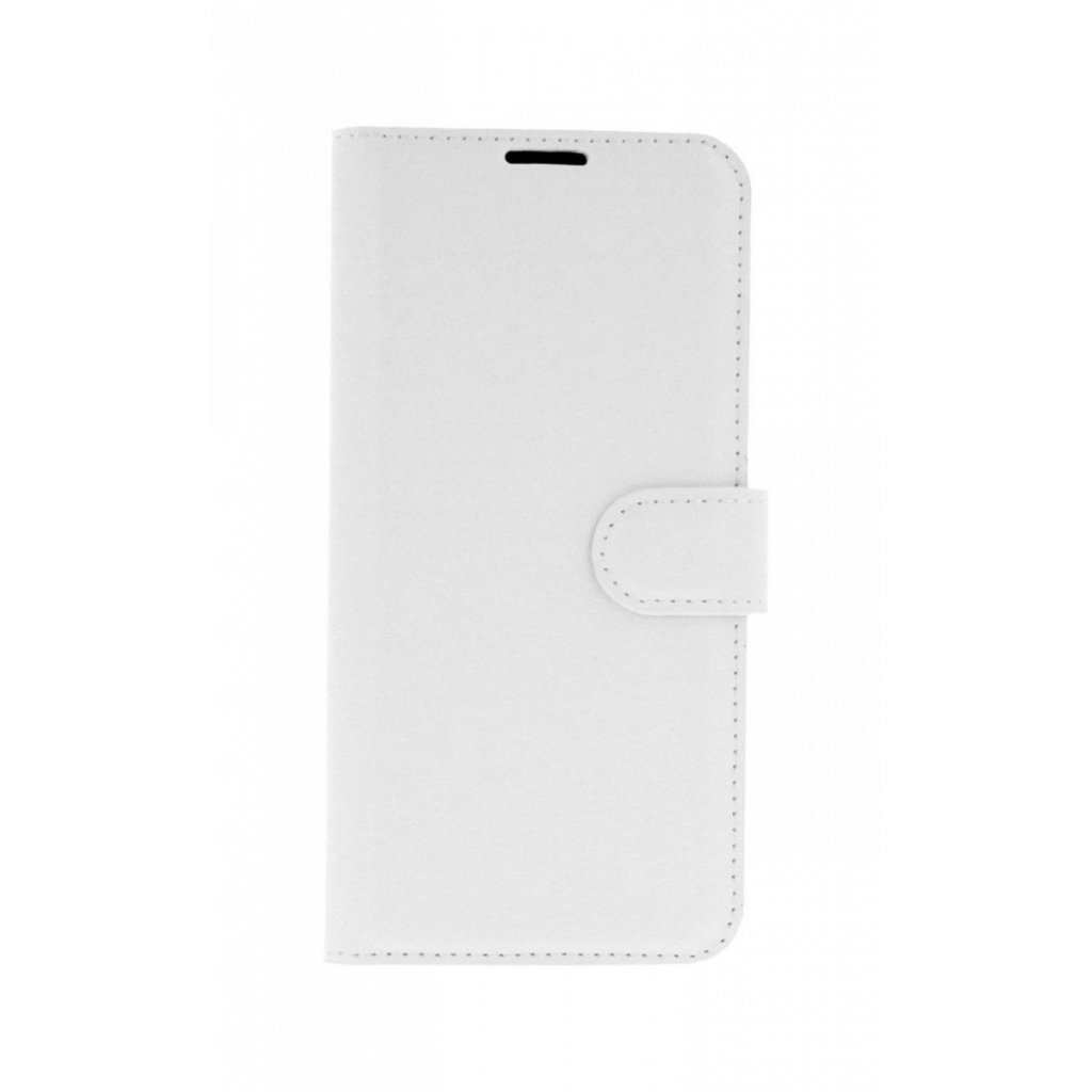 Flipové puzdro na Huawei P Smart 2019 biele s prackou