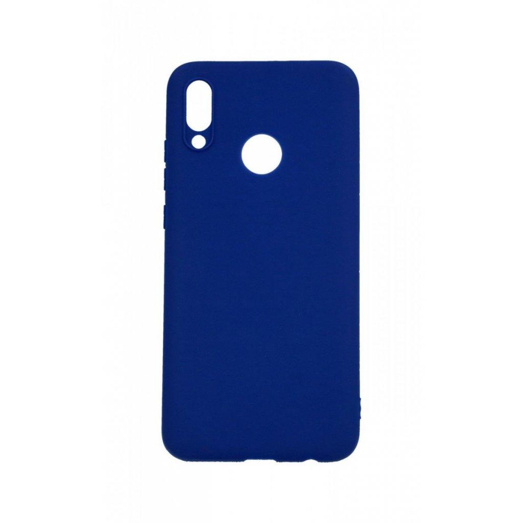 Zadný silikónový kryt na Huawei P Smart 2019 Soft modrý