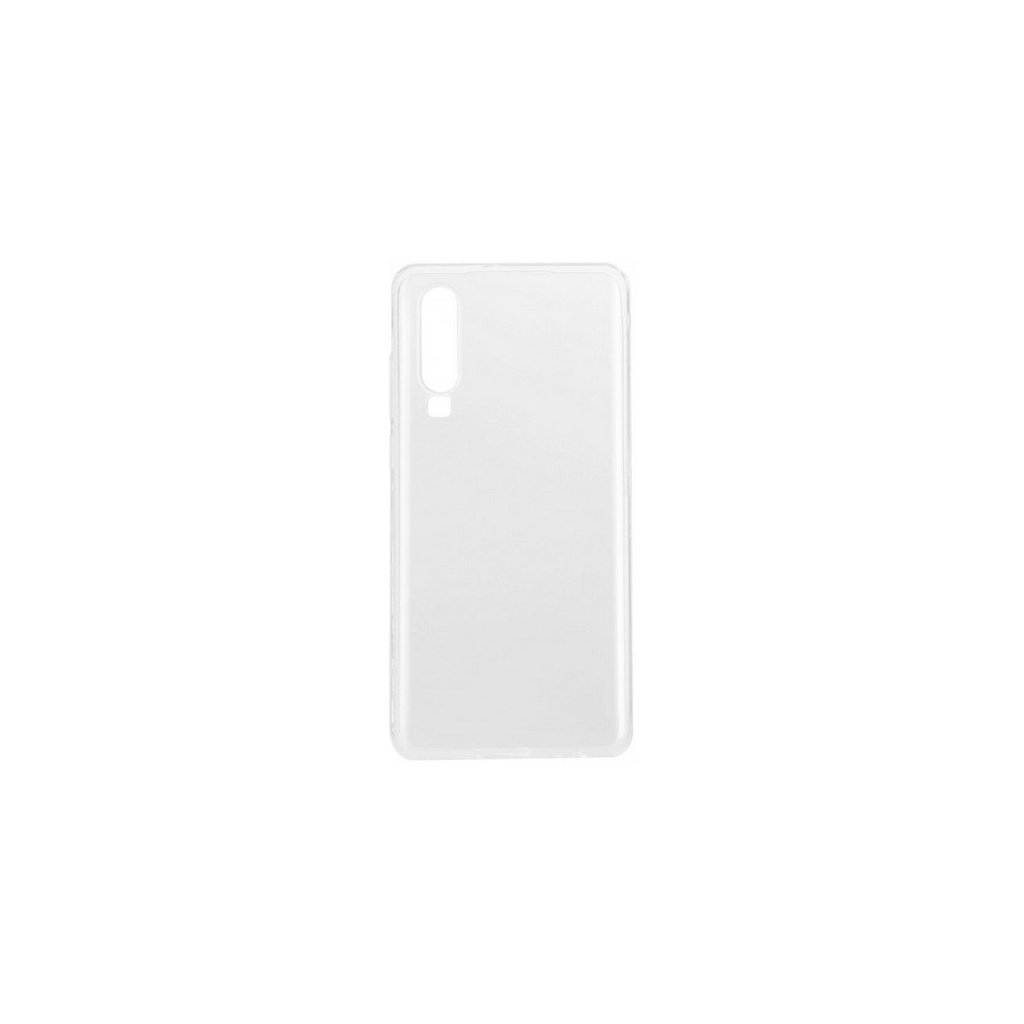 Ultratenký silikónový kryt na Huawei P30 0,5 mm priehľadný