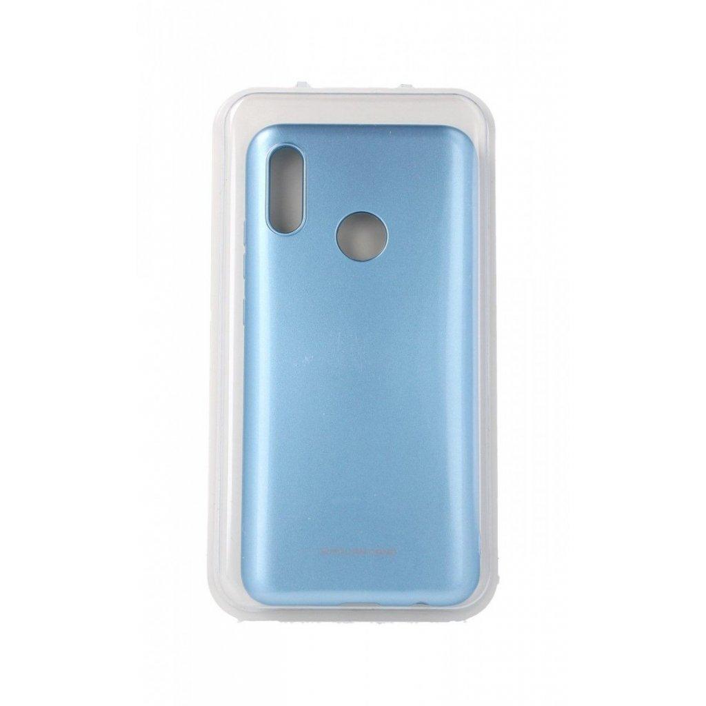 Zadný silikónový kryt Molan Cano Jelly na Huawei P Smart 2019 modrý svetlý