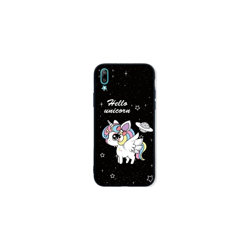 Zadný pevný kryt LUXURY na Huawei Y6 2019 Unicorn