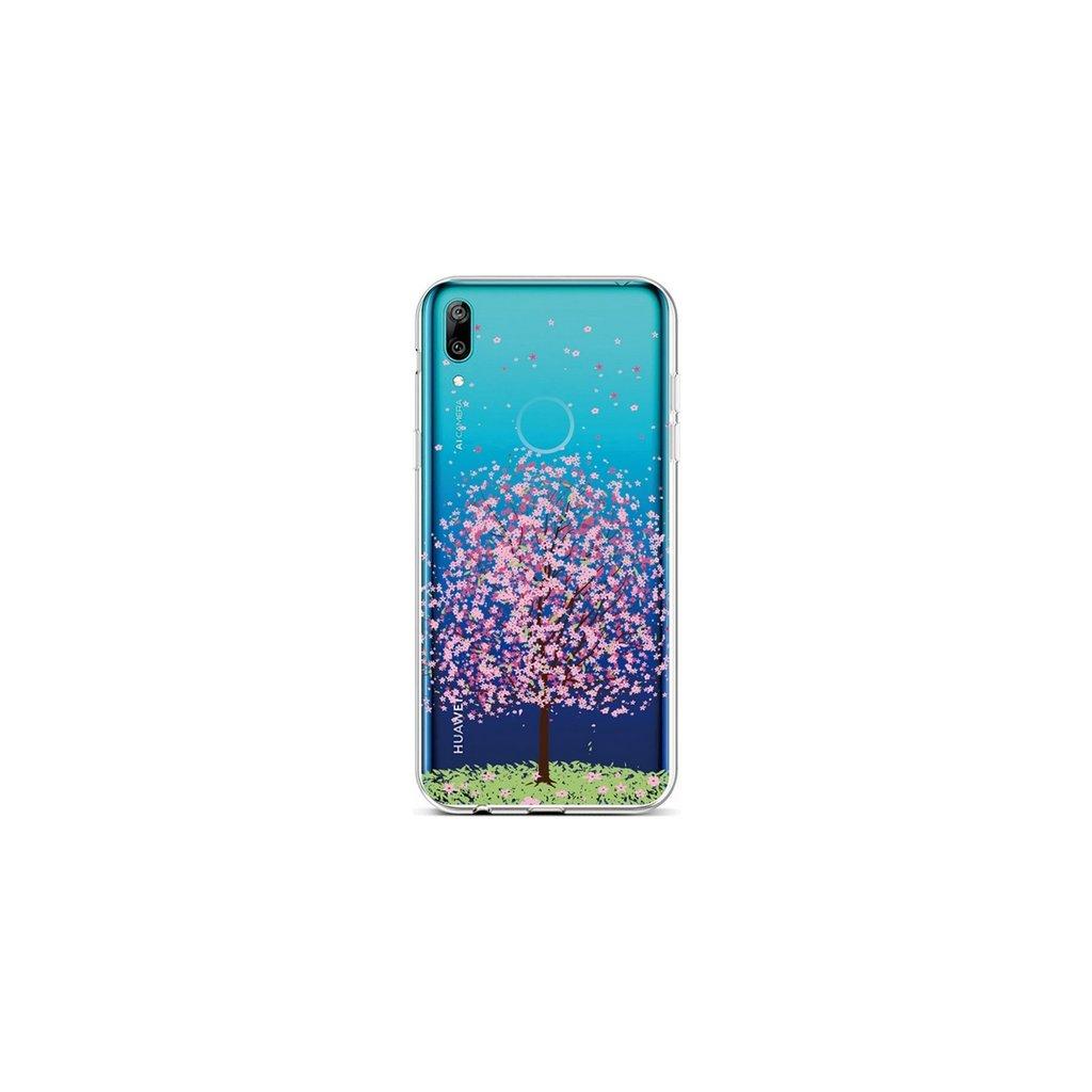 Zadný silikónový kryt na Huawei Y6 2019 Blossom Tree