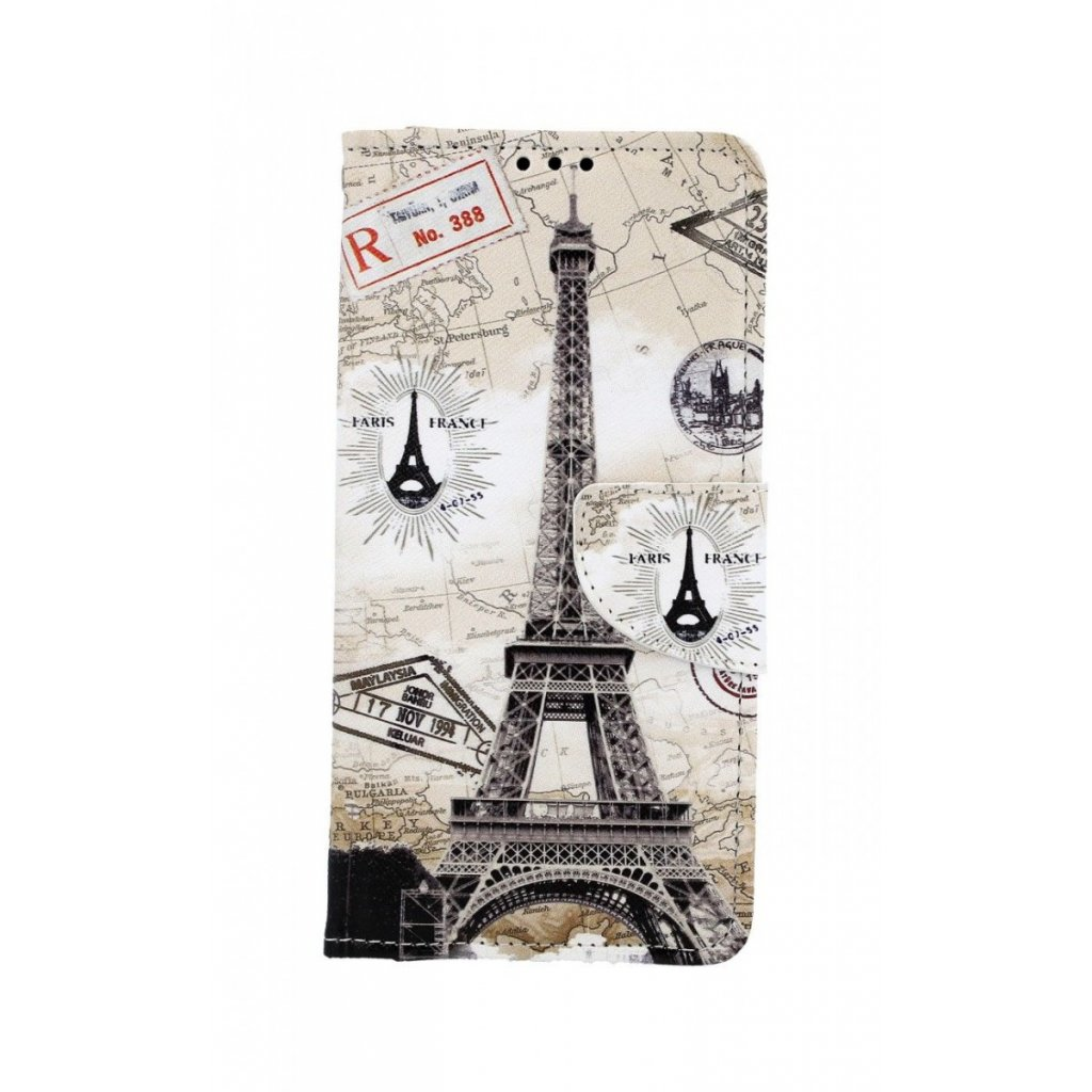 Flipové puzdro na Huawei Y6 2019 Paris 2