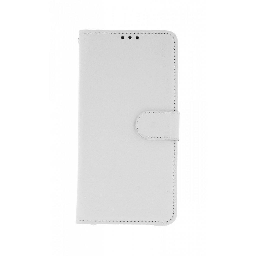 Flipové puzdro na Huawei Y6 2019 biele s prackou