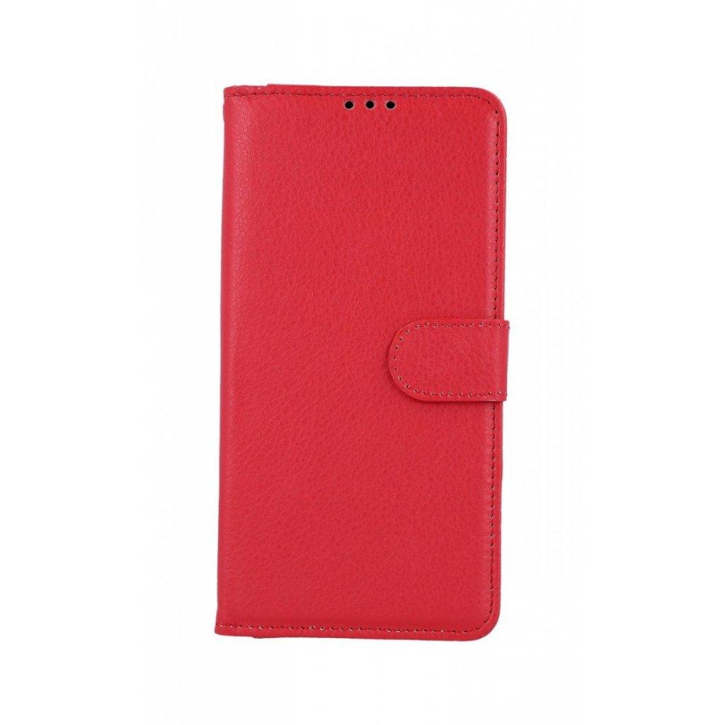 Flipové puzdro na Huawei Y6 2019 červené s prackou