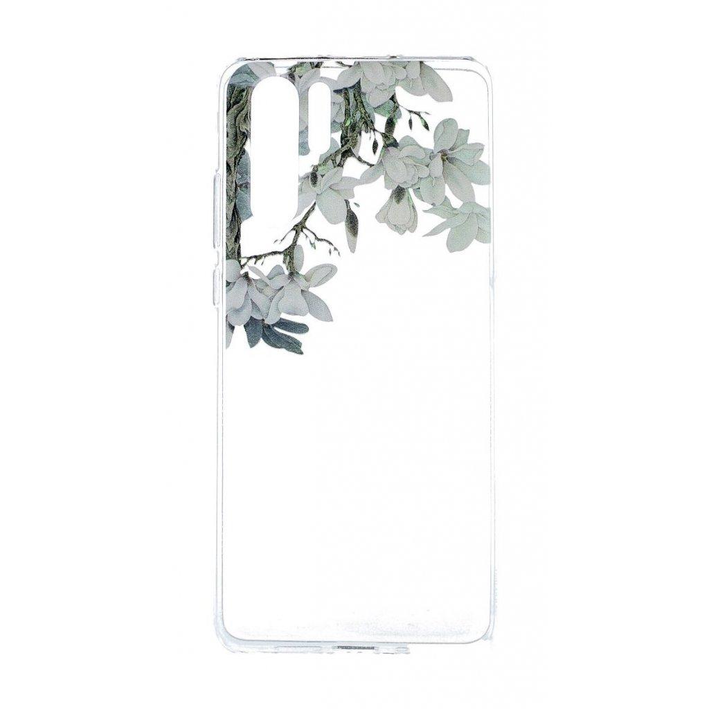 43800 zadny silikonovy kryt na huawei p30 pre jasmine blossom
