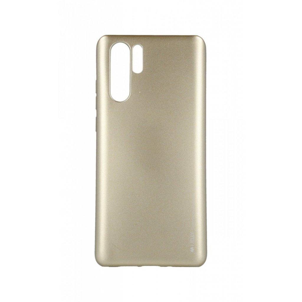 Zadný kryt Mercury iJelly Metal na Huawei P30 Pro zlatý