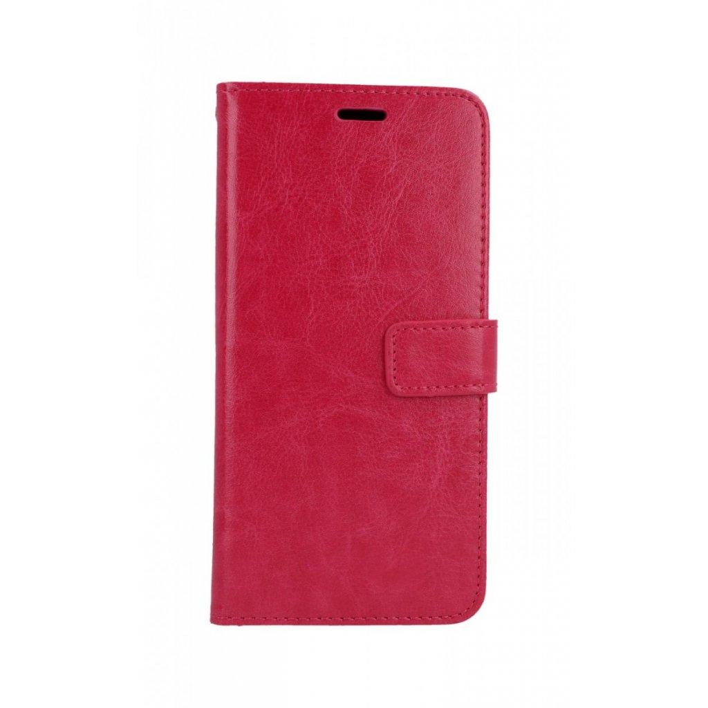 Flipové puzdro na Huawei P Smart 2019 ružové koženka