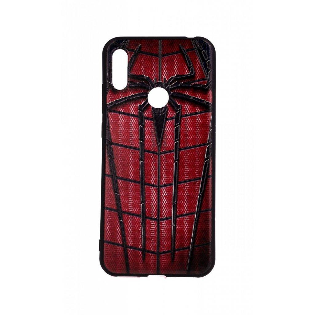 Zadný 3D silikónový kryt na Huawei Y6 2019 Spider-man