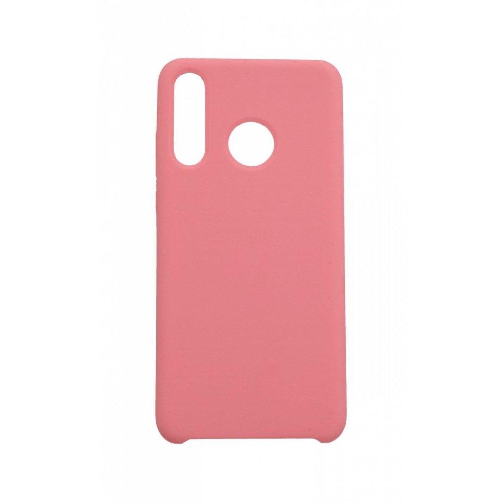 Zadný silikónový kryt Forcell Gummy na Huawei P30 Lite ružový