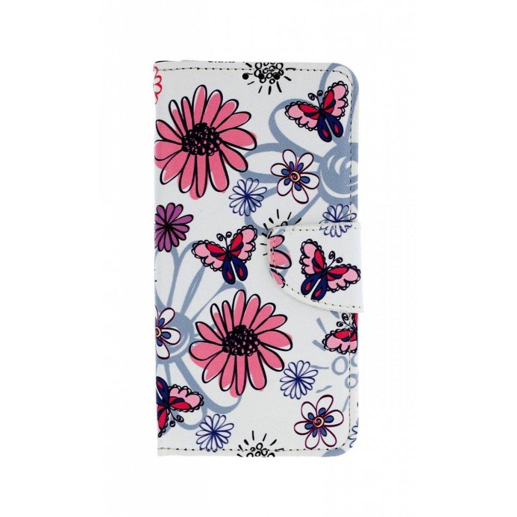 Flipové puzdro na Huawei P30 Lite Flowers