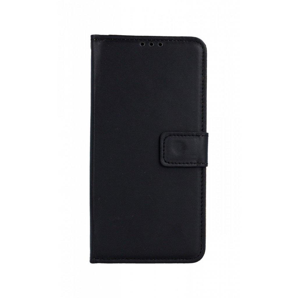 Flipové puzdro na Huawei P30 Lite čierne s prackou 2