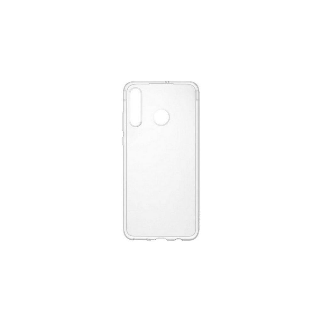 Zadný kryt Swissten Clear Jelly na Huawei P30 Lite priehľadný