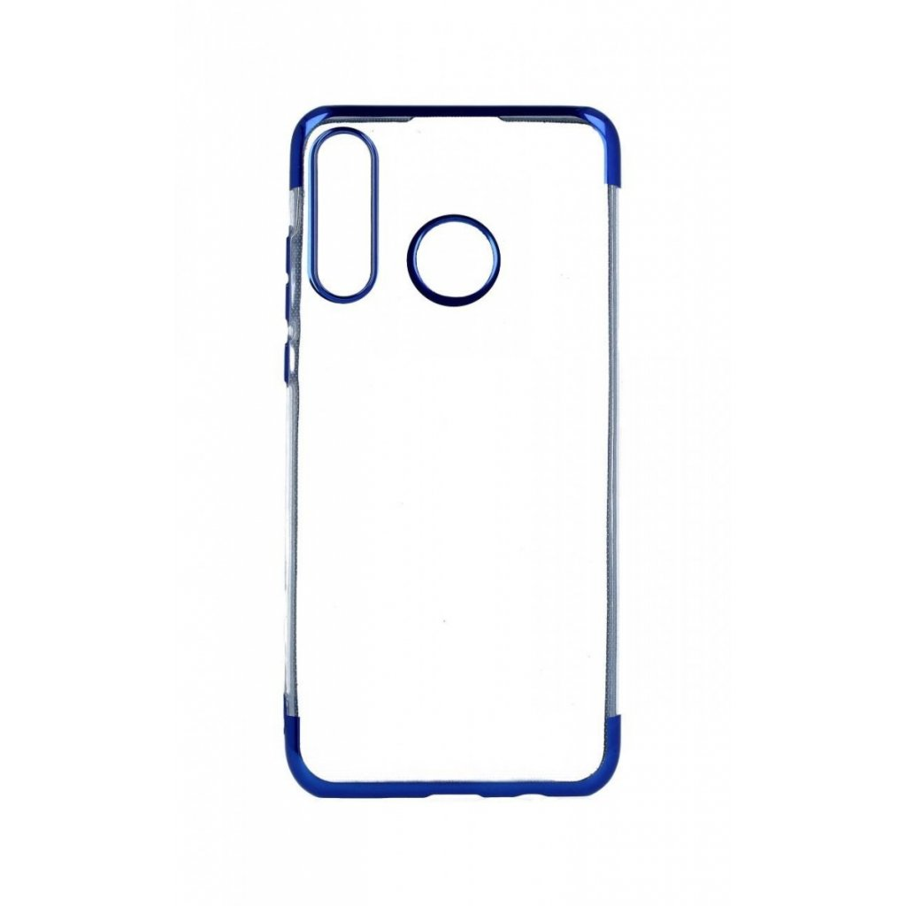 Zadný silikónový kryt na Huawei P30 Lite Frame modrý