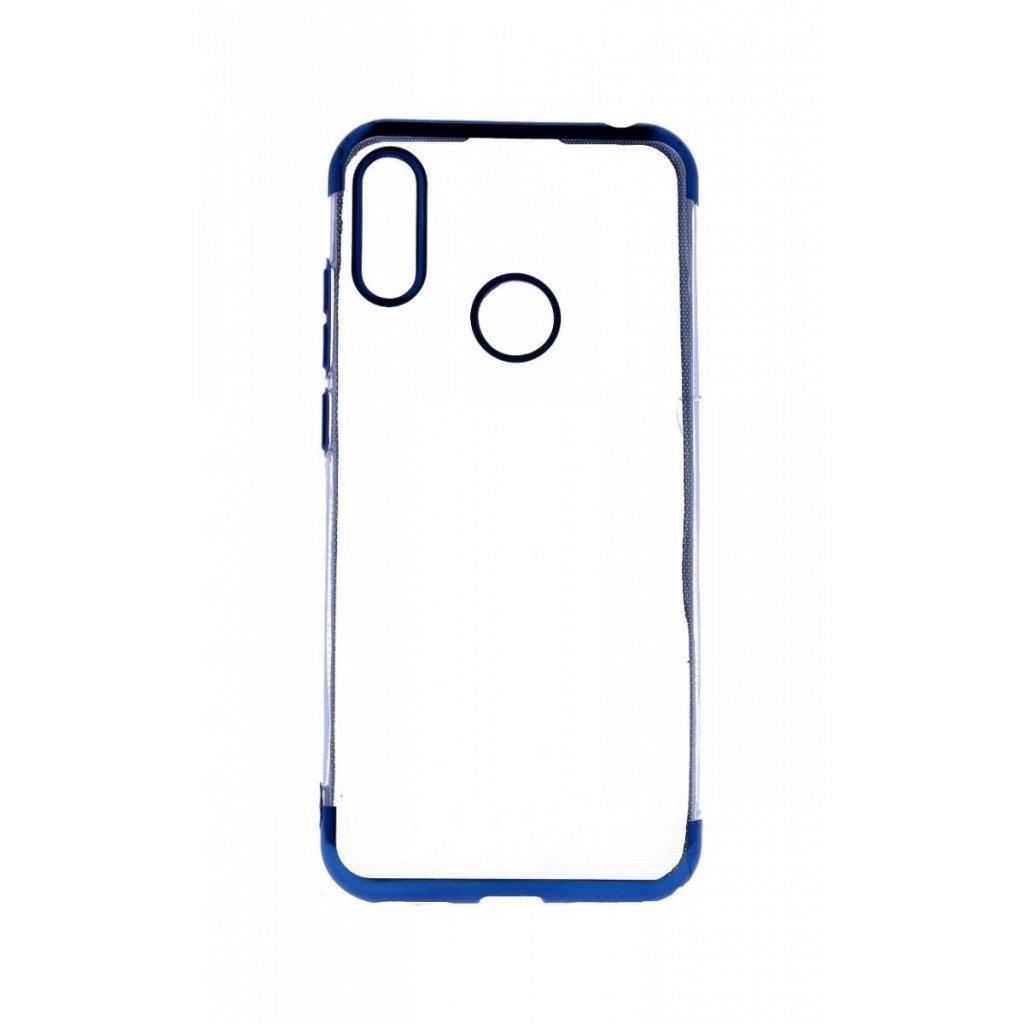 Zadný silikónový kryt na Huawei Y6 2019 Frame modrý