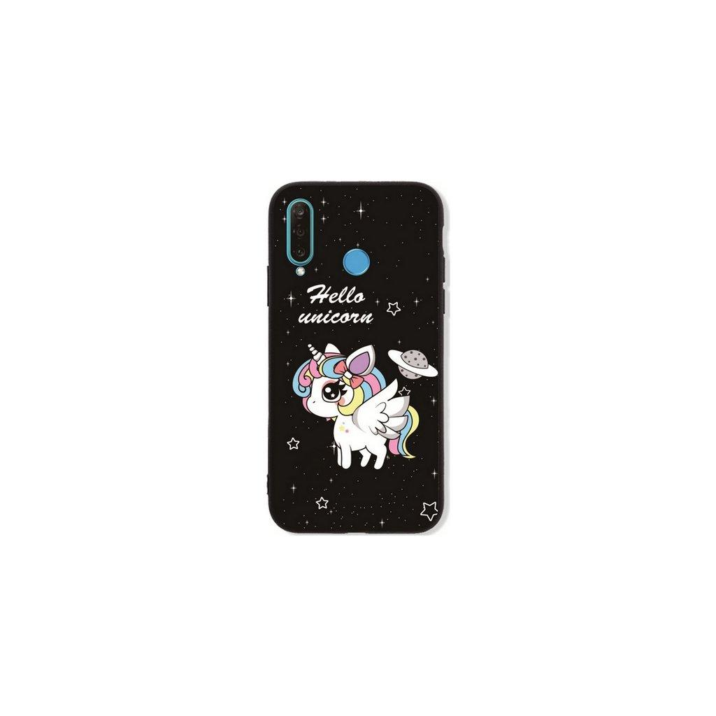 Zadný pevný kryt LUXURY na Huawei P30 Lite Unicorn