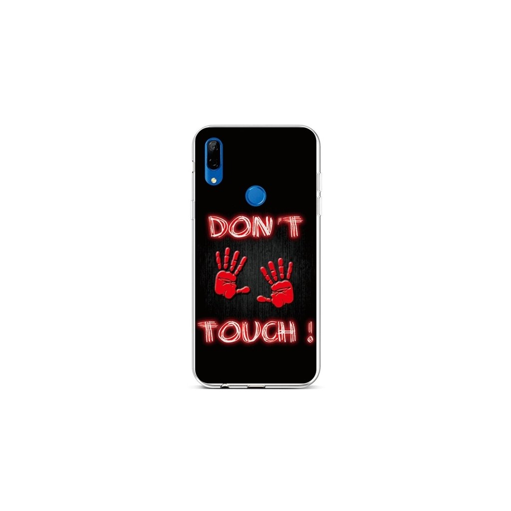 Zadný silikónový kryt na Huawei P Smart Z Dont Touch Red