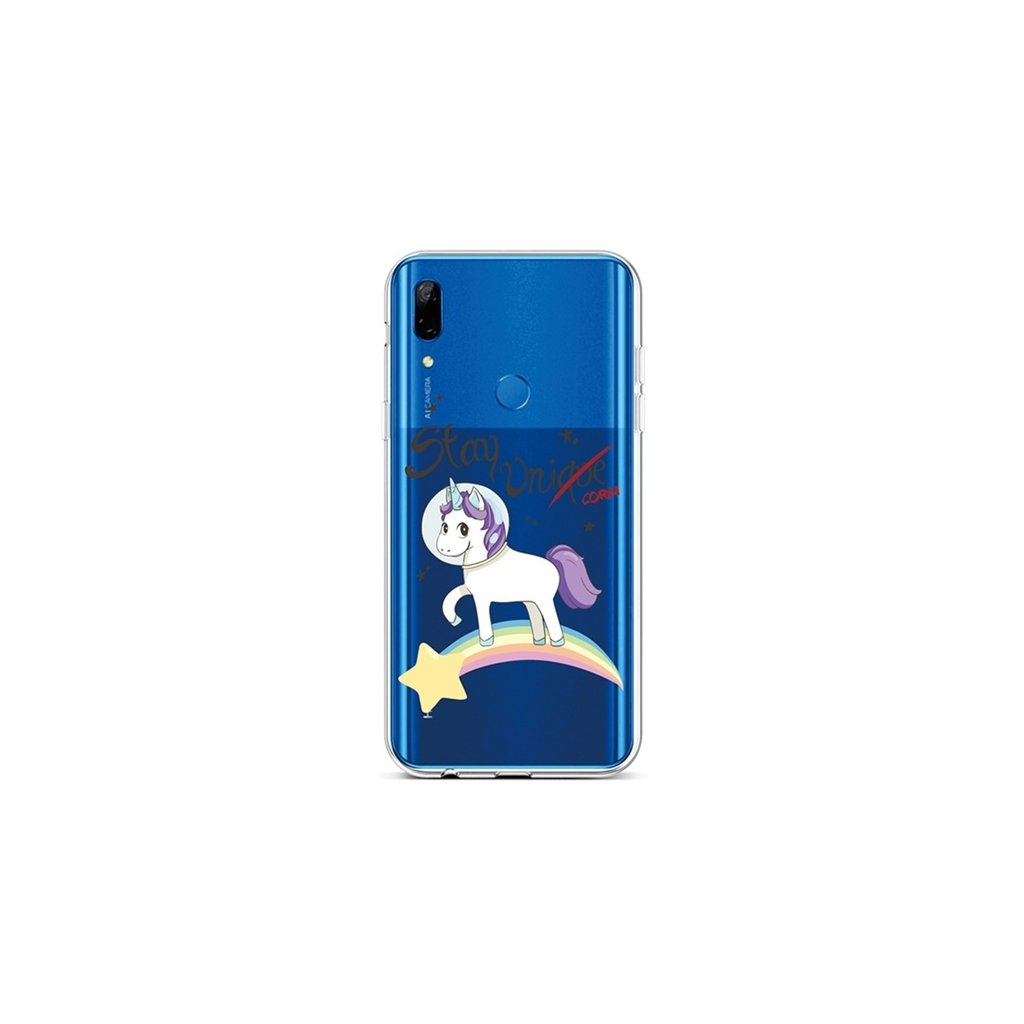 Zadný silikónový kryt na Huawei P Smart Z Stay Unicorn