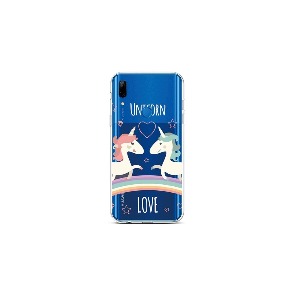 Zadný silikónový kryt na Huawei P Smart Z Unicorn Love