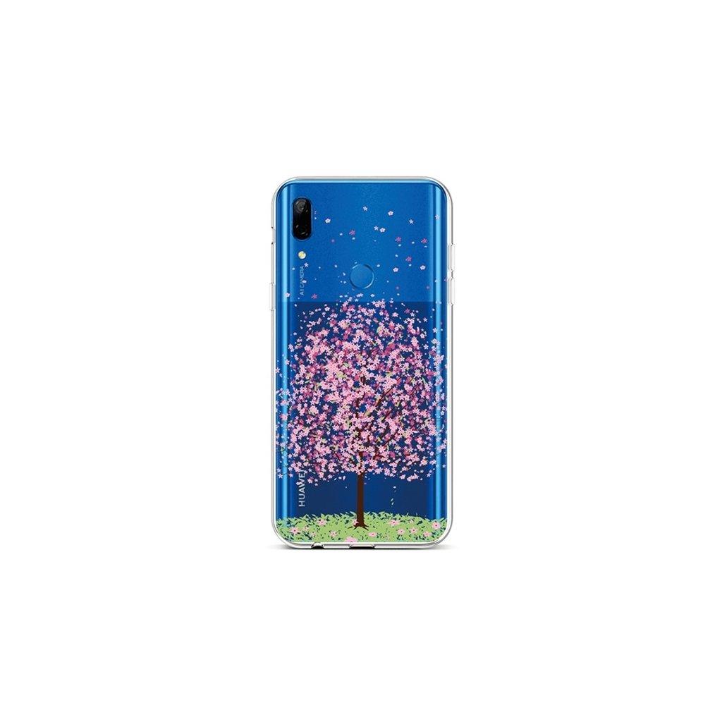 Zadný silikónový kryt na Huawei P Smart Z Blossom Tree