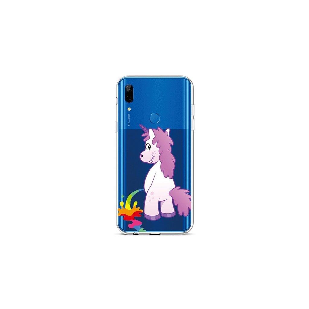 Zadný silikónový kryt na Huawei P Smart Z Rude Unicorn