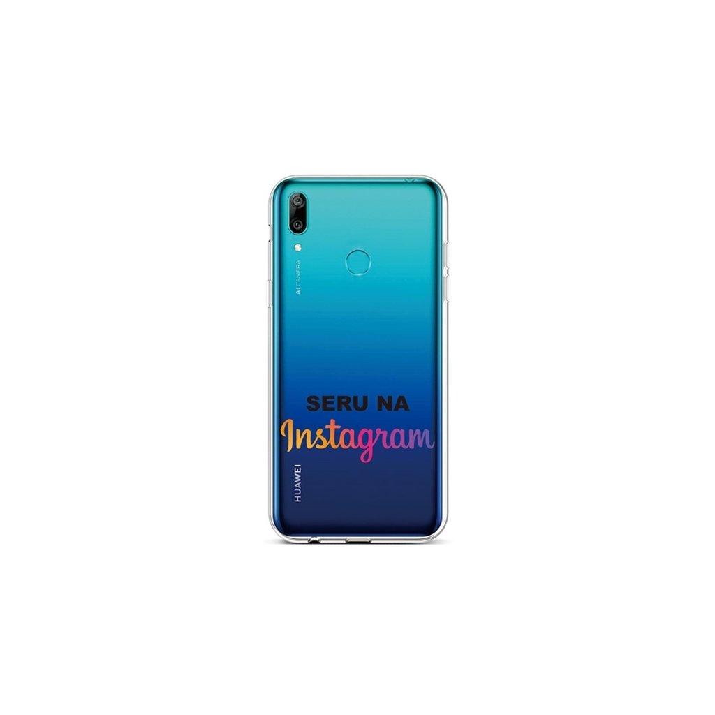 Zadný silikónový kryt na Huawei Y6 2019 Instagram