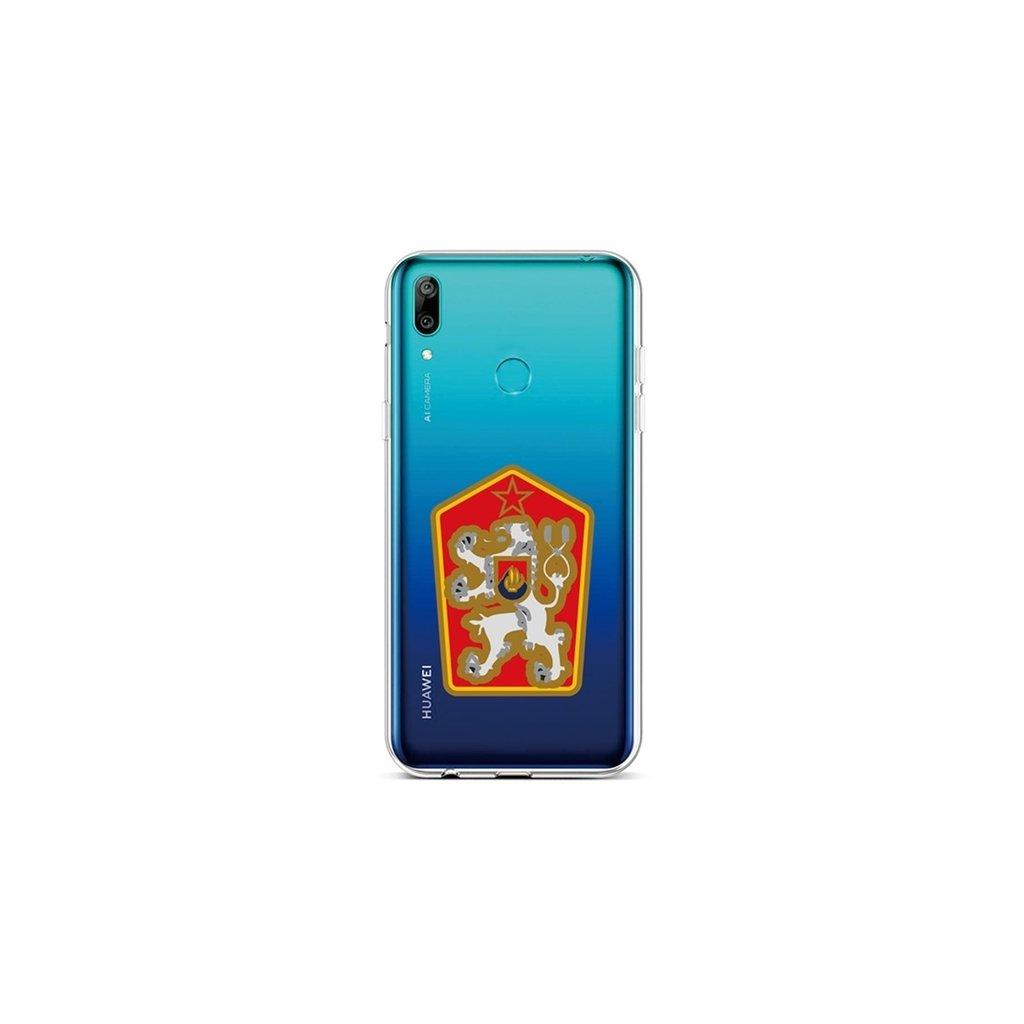 Zadný silikónový kryt na Huawei Y6 2019 Štátny znak
