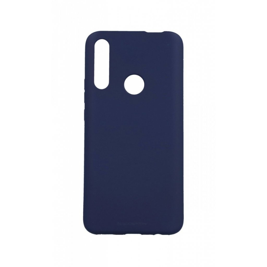 Zadný silikónový kryt Mercury Soft Case na Huawei P Smart Z modrý